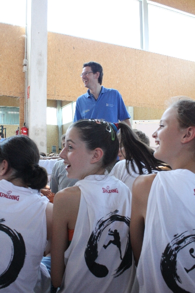Charla Juan José Hernández Liras para jugadores de baloncesto. Campus JGBasket 2012