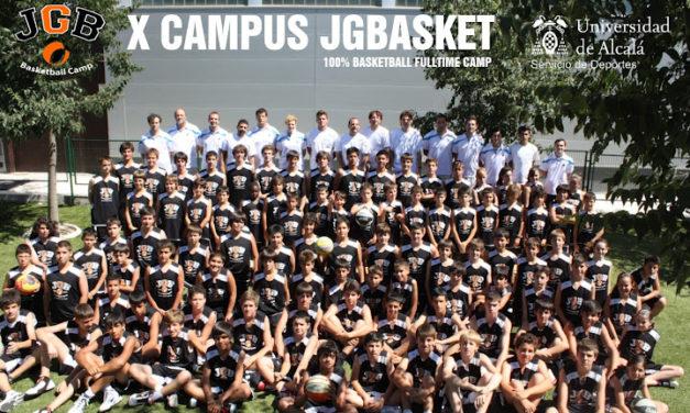 Campus baloncesto JGBasket 2012. Edición Oro.
