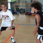 Disfrutar paso a paso del baloncesto desde pequeños.