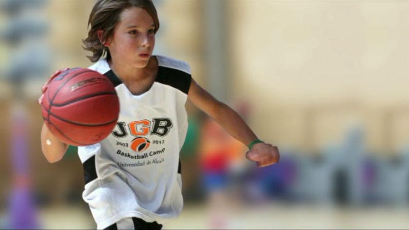 En 1 minuto. Promo oficial Campus Baloncesto JGBasket 2012.