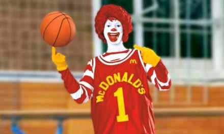 Ronald McDonald sabe meterla