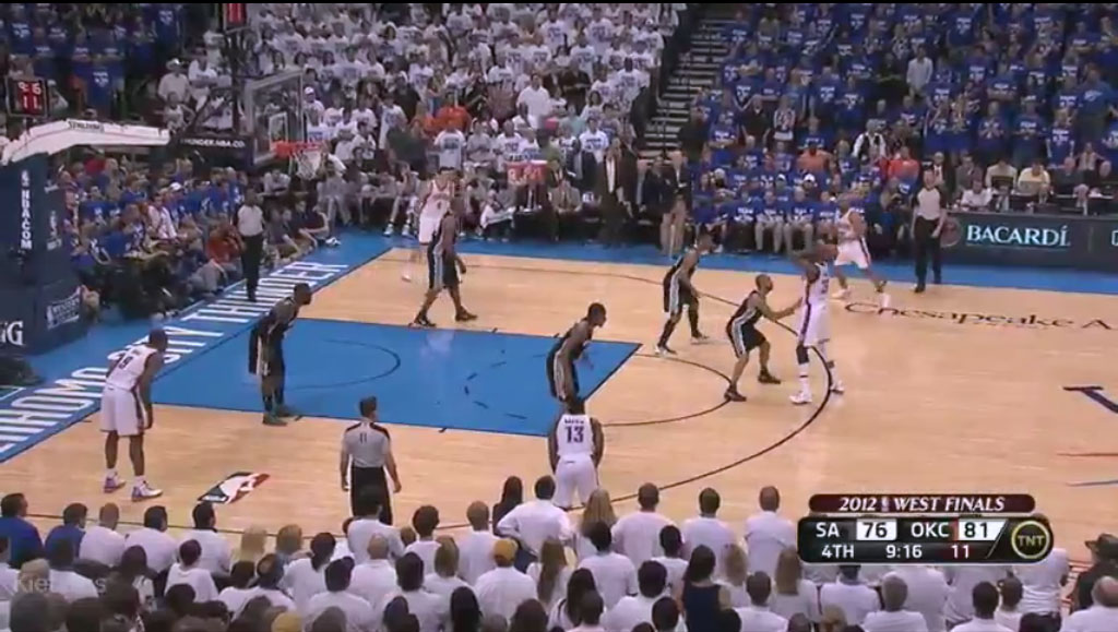 San Antonio Spurs y Oklahoma City Thunder. Dos estilos de baloncesto, un mismo objetivo
