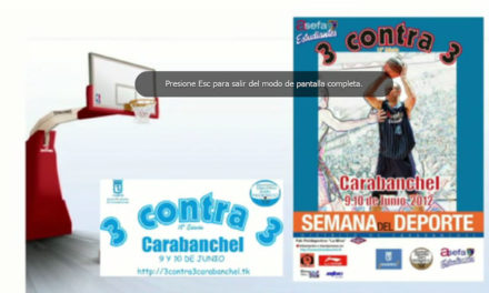 ¿Sale tú canastón? 3×3 Carabanchel, Torneo Carlos Jiménez 2012