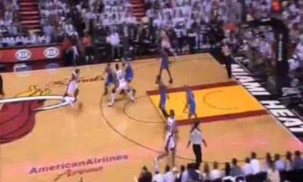 Miami toma ventaja en la final de la NBA ante los jóvenes Thunder
