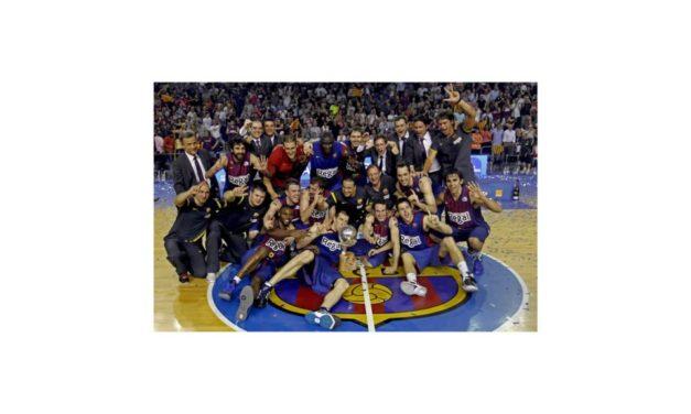 Regal Barcelona, Brillante nuevo campeón de la liga ACB