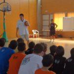 """Charlas Campus JGBasket. Juanjo Hernández Liras: """"Motivación, respeto y autoridad son claves para ganar el entrenamiento"""""""