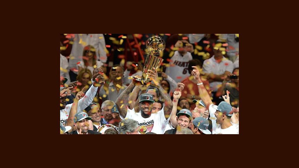 Miami Heat campeón de la NBA, el Rey ya tiene su corona.