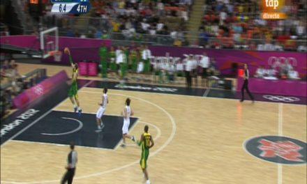 Una apática España sortea a Estados Unidos hasta la final. España 82 – Brasil 88
