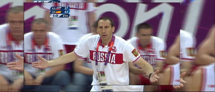 Londres 2012. España, que llegó a ganar por dieciocho puntos, acaba perdiendo el partido y el liderato ante Rusia
