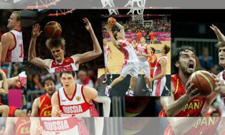 España intentará acabar con la maldición rusa. Previa semifinales Londres 2012. Baloncesto. Rusia vs España