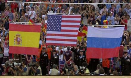 Orgullosos de ser españoles . Final JJOO Londres 2012. España vs USA