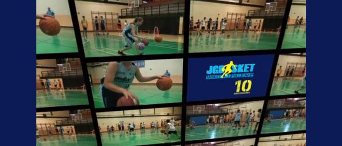 Colección de ejercicios baloncesto para mejorar el dominio de balón y el dribling, con dos y tres balones