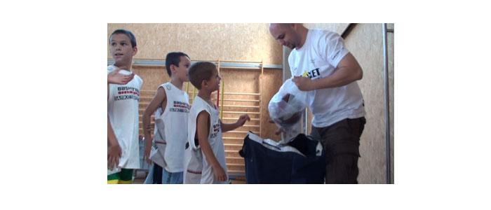 El hombre del saco. Protagonistas Campus JG Basket