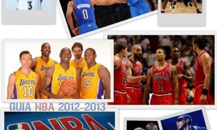 Guía NBA temporada 2012-2013. Colección completa