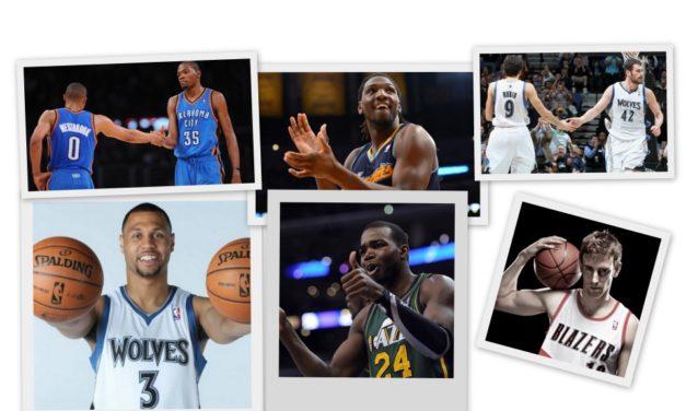 NBA Temporada 2012/2013. Análisis División Northwest