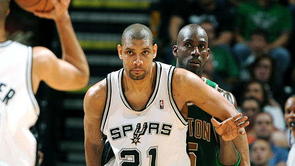 "Tim Duncan. The ""Big Fundamental"". Poesía en movimiento sobre la cancha de baloncesto"
