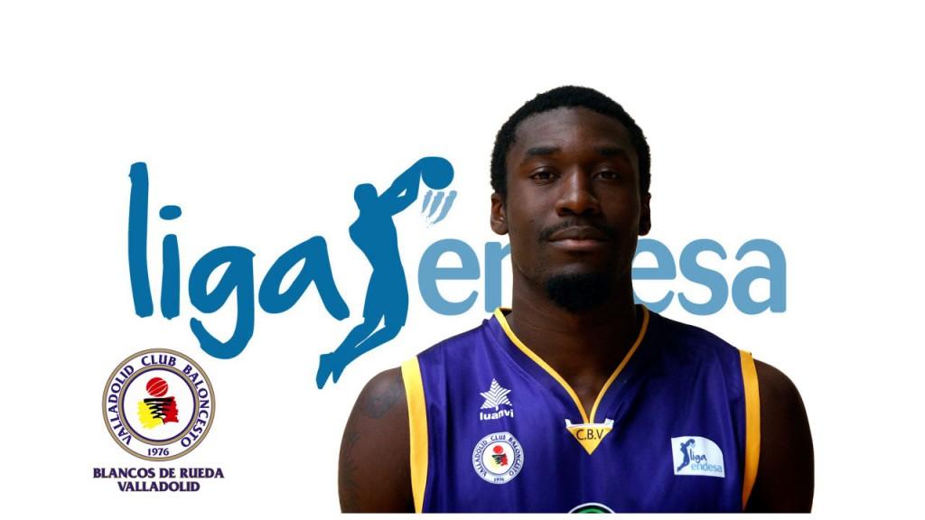 Othello Hunter, jugador del Blancos de Rueda Valladolid. MVP de la sexta Jornada