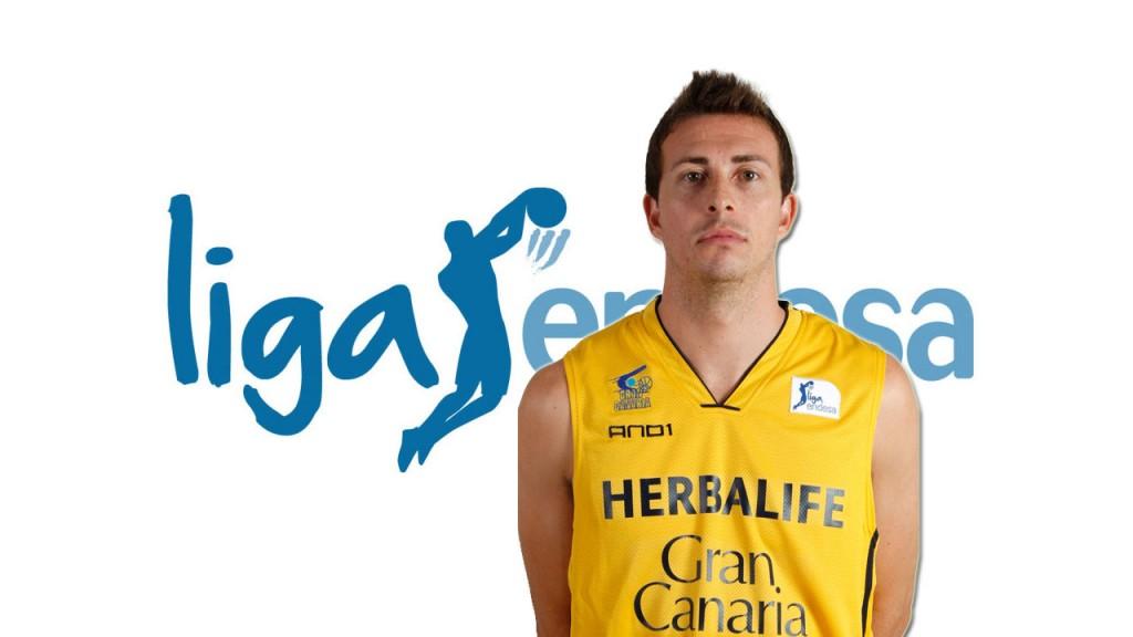 Ryan Toolson, de Herbalife Gran Canaria, jugador de la octava jornada de la Liga Endesa