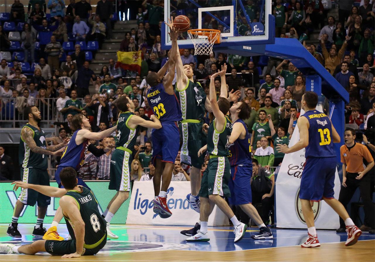 Resumen de la decimocuarta jornada de la liga endesa el for Unicaja barcelona oficinas