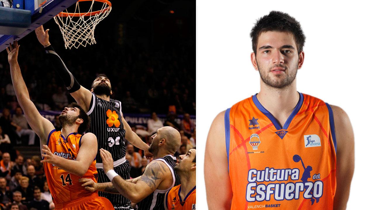 Bojan Dubljevic del Valencia Basket, jugador de la jornada 16 Liga Endesa