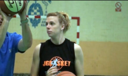 Esther Ruiz, un referente del campus JGBasket