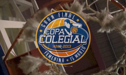 Este viernes a las 20:00, Gran Final Colegial femenina Madrid 2013 Brains vs Corazonistas. Ven a vivirla
