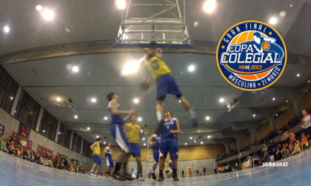 El baloncesto a tope. Final Copa Colegial 2013. Estudio vs Liceo Francés.