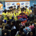 Final Copa Colegial Madrid 2013. Colegio Estudio vs Liceo Francés. Partido completo.