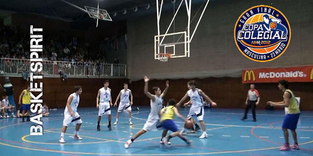 Final Copa Colegial 2012. San Agustín vs Estudio.