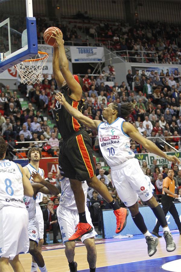 Liga Endesa. CAI Zaragoza vs Lagun Aro GBC. Resumen jornada ACB