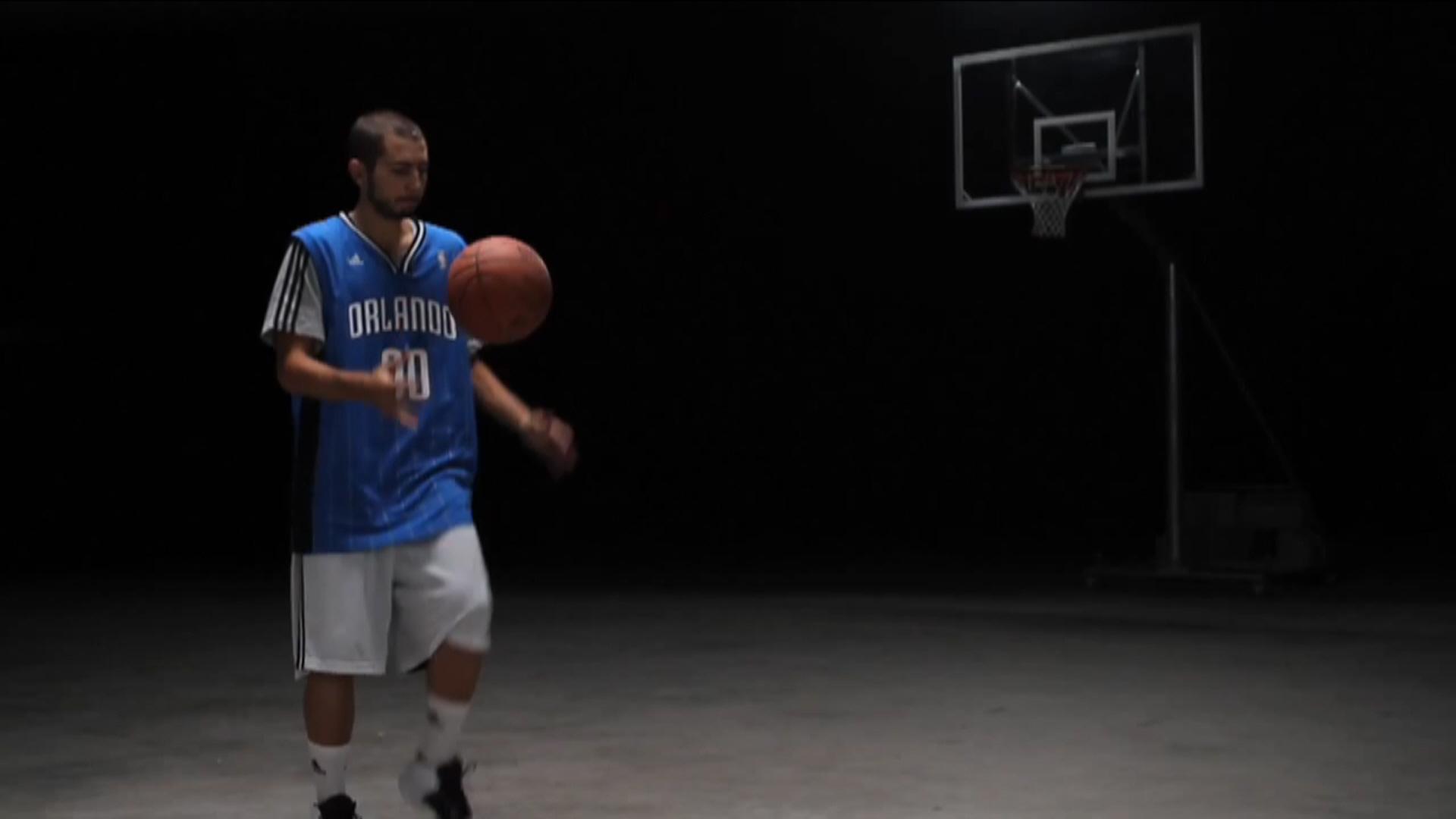 Avance. Dawizard virtuoso del balón residente en el Campus JGBasket 2013.