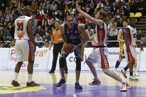 Nacho Martín. Blancos Rueda Valladolid. MVP Mes de Marzo 2013