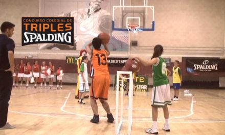 Concurso de triples. Spalding. AllStar Colegial Madrid 2013
