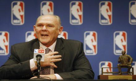 George Karl, alma de ganador. La historia del entrenador del año de la NBA