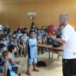 Programa de charlas para jugadores en el 11º Campus JGBasket de tecnificación y mejora individual.