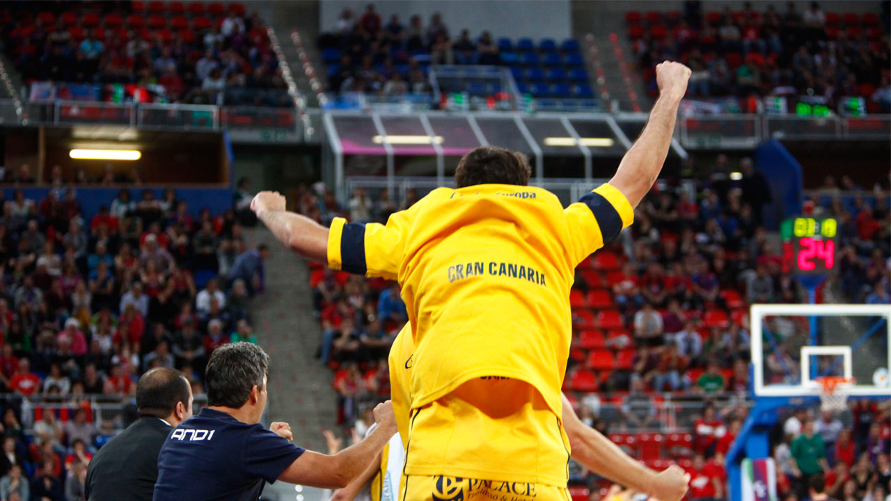 Gran Canaria rompe su barrera. Tercer partido de los cuartos de final de la Liga Endesa