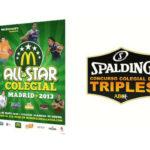 Concurso de triples. Spalding. AllStar Colegial Madrid 2013.