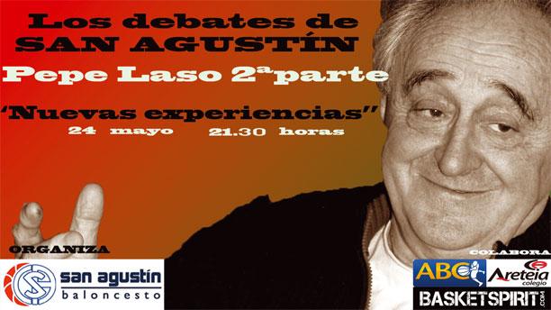 Pepe Laso. Los debates de San Agustín. Madrid