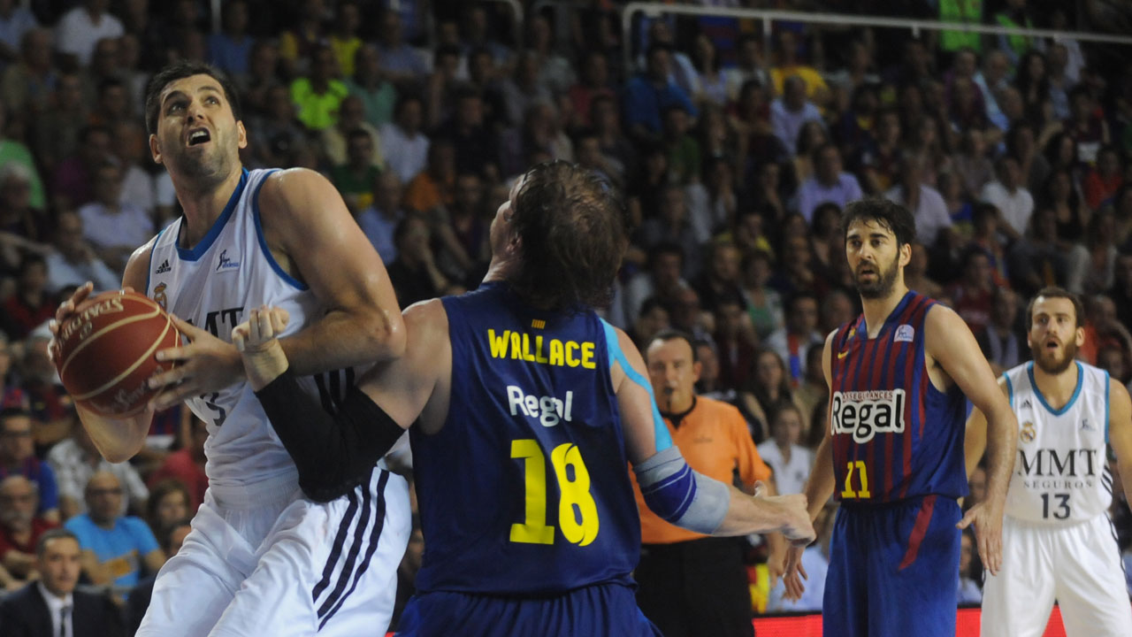 Mirotic ejerce de MVP. Tercer partido de la final de la Liga Endesa. (Barça Regal, 72 – Real Madrid, 84)