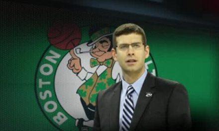 Savia nueva llega a la NBA. Brad Stevens, nuevo entrenador de los Boston Celtics.