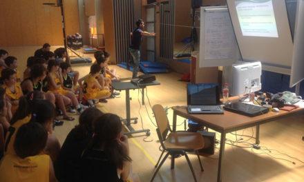 Diario del Campus. Día 7. Vida sana para evitar lesiones