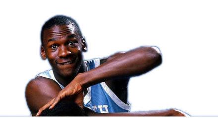 Michael Jordan. Llegada a North Carolina, y comienzo de la leyenda