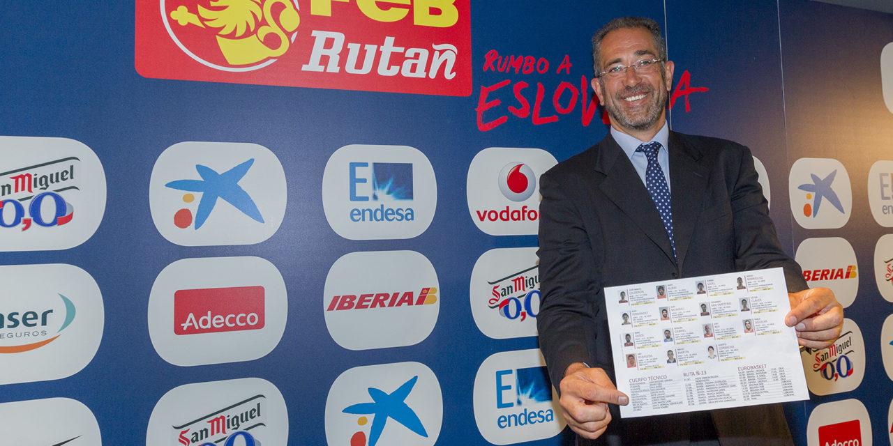 Eurobasket Eslovenia 2013. Orenga despeja la incógnita
