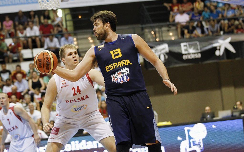 Orenga se estrena sufriendo. Polonia vs España. Preparación Eurobasket