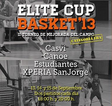 Torneo  Elite Cup Basket 2013
