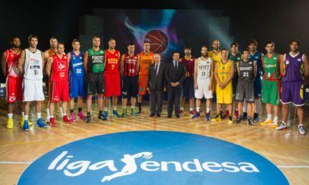 La suerte está echada. Presentación oficial de la Liga Endesa 2013-2014