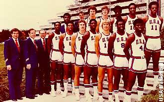 Montreal 1976. Selección USA. Campeona Olímpica Baloncesto