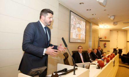 Salón de la Fama del Baloncesto Colegial. Presentación y discurso de Rafa Vidaurreta.