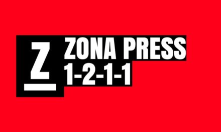 Variantes defensivas. Zona press 1-2-1-1