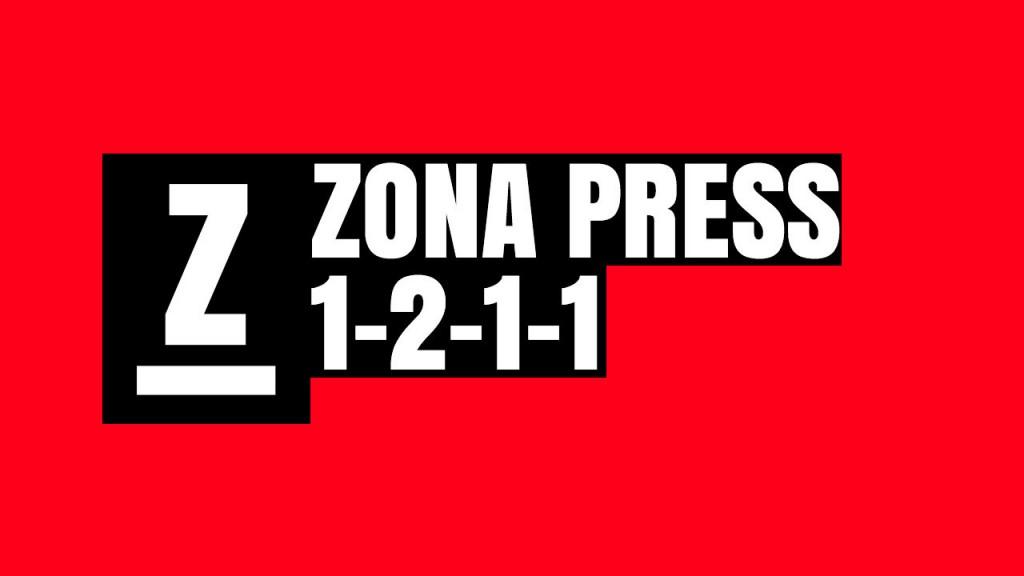 Variantes defensivas. Zona press 1-2-1-1